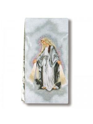 Copriamboni intessuti 9257 - Madonna Miracolosa