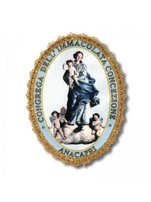 Medaglioni in Raso Stampato 9694