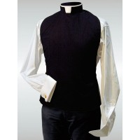 Clergy Shirt Front 10002