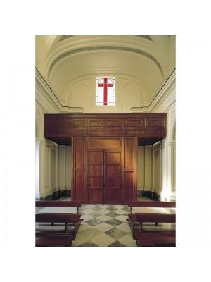 Realizzazione Retro Porte Chiesa 11080