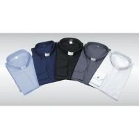 Camicia Clergy Misto Cotone Manica Lunga 10000-ML