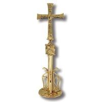 Cruz de Altar con Pavo Real 5133