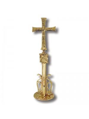 Croce da Altare con Pavoni 5133