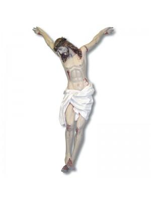 Cristo estilo '700 en Cartón Piedra 7718