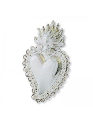 Cuore in argento 7367