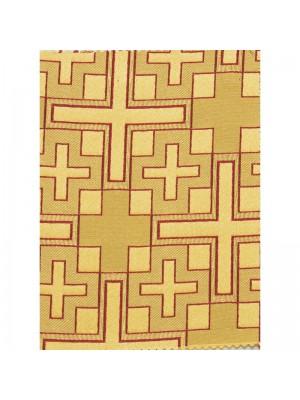 Drappo Croci Geometrico  11127