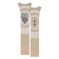 Estolón Escapulario Niño Jesús de Praga 7277-SC084