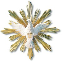 Espíritu Santo en Talla Madera 7844