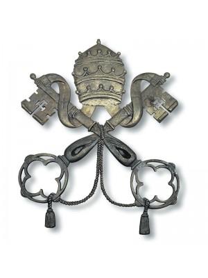 Stemma Vaticano in Bronzo 7202